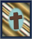 3D Cross Mother of Pearl