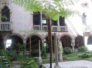 Courtyard at the Isabella Stewart Gardner Museum