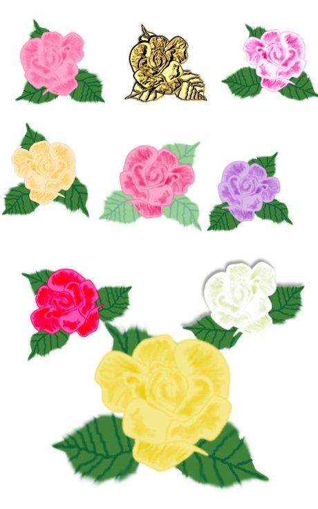 Rose Sampler