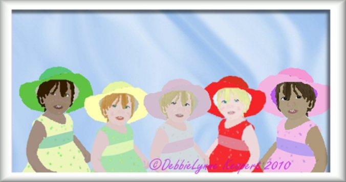 Five Easter Babies