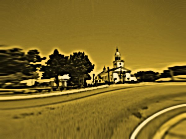 Distorted Church