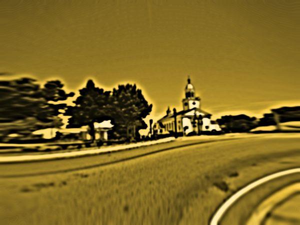 Distorted Church