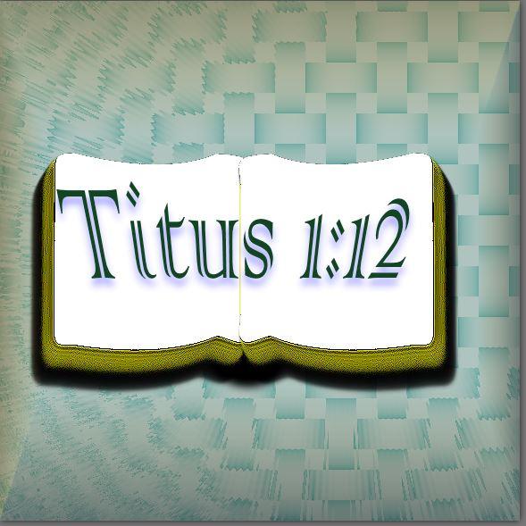 Titus 1 12