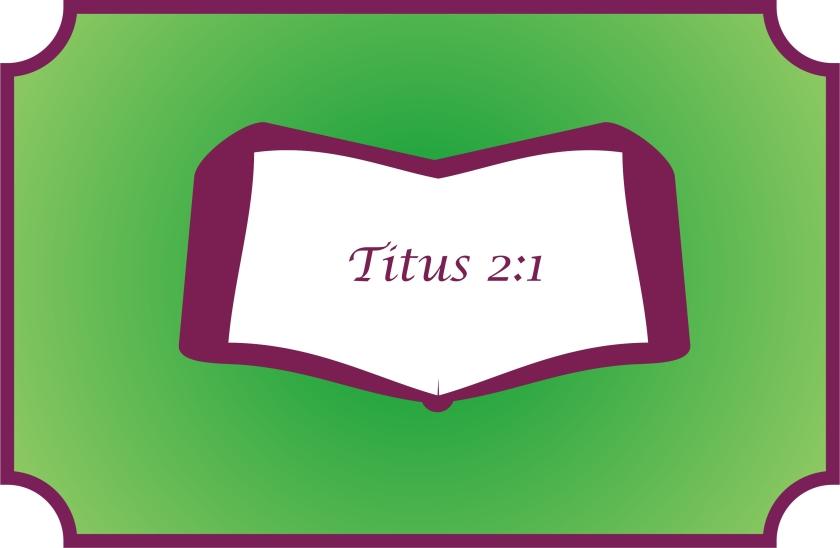 Titus 2 1