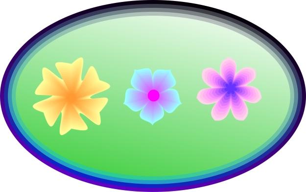 Polygon Flowers Sampler