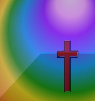 Rainbow and Cross