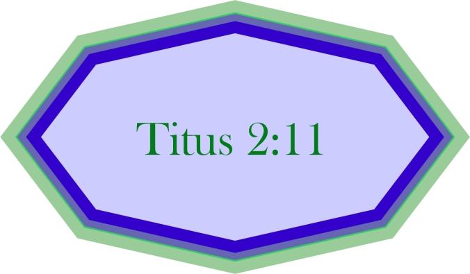 Titus 2 v 11