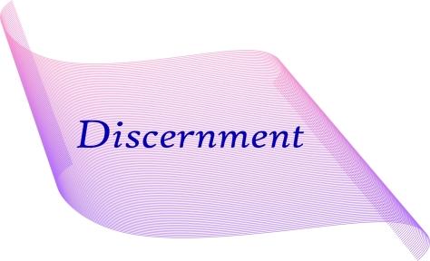 Discernment Scroll