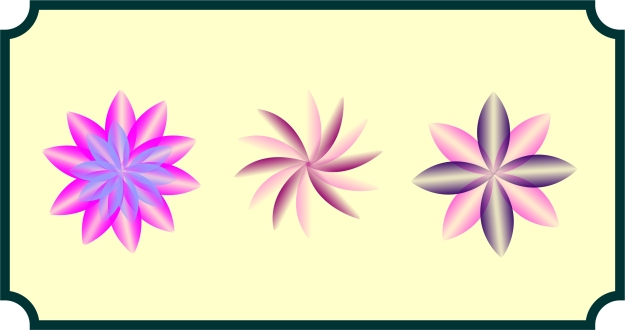 Fantasy Flowers Sampler