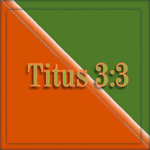 Titus 3 3