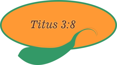 Titus 3 8