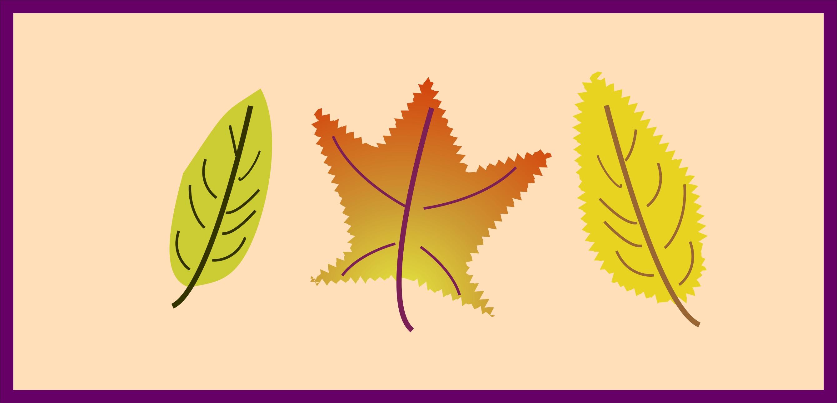 Autumn Leaves Sampler