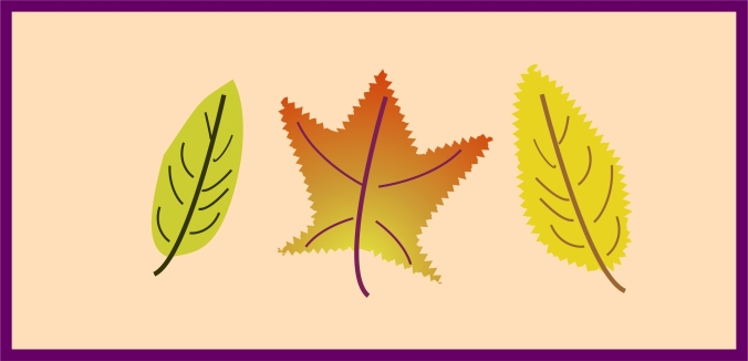 Autumn Leaves Sampler