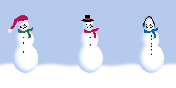 Snowmen Sampler