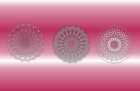 Doily Sampler Pink the Sequal