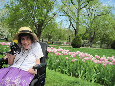 Spring Wheelchair