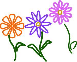 Flower Outline Sampler