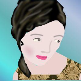 Pensive Woman03