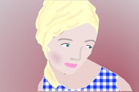 Pensive Woman04